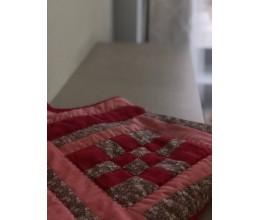 """Lovatiesė, pledas """"Rožinis sapnas"""" (90x115cm) 1"""