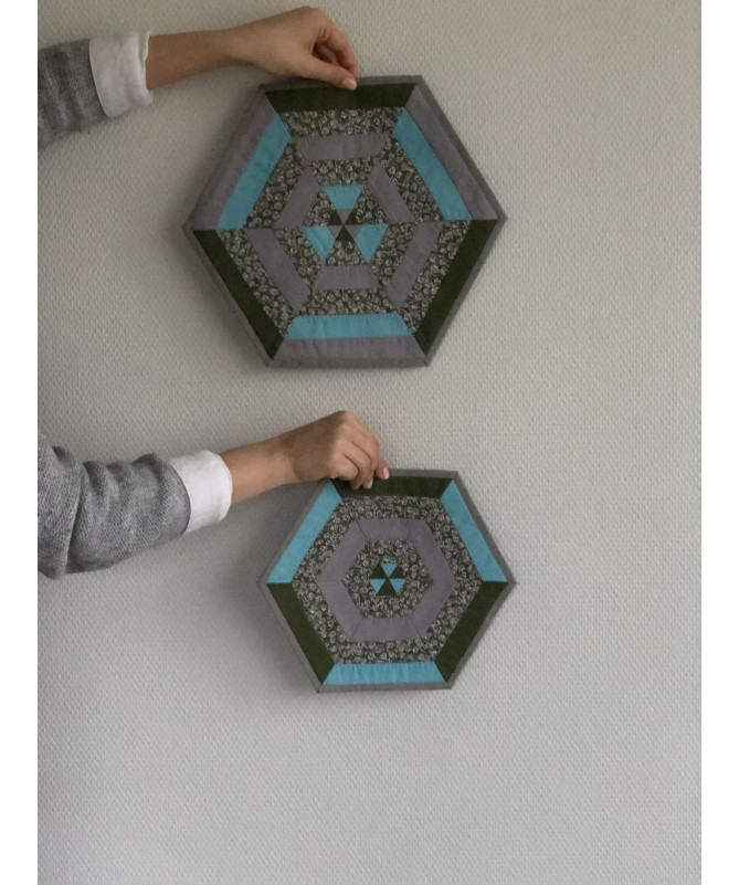 Servetėlių komplektas (1x30cm, 6x25cm)