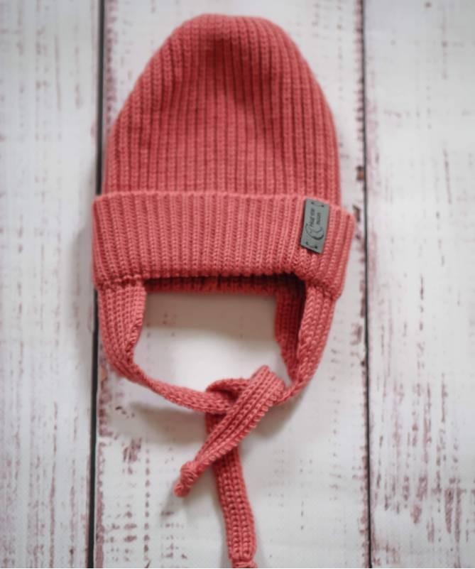 Vaikiška merino vilnos kepurė