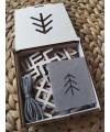 Mediniai kalėdiniai žaisliukai su baltiškais simboliais 2