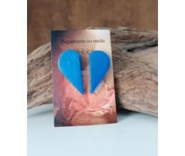 širdelė pusiau mėlyna