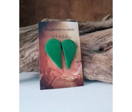 širdelė pusiau žalia