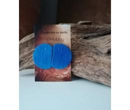 Auskariukai mėlyna spalva