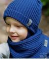 Vaikiška merino vilnos kepurės ir šaliko komplektas 2