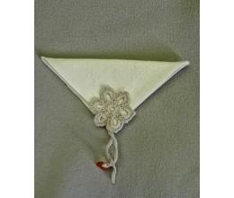 Lininiai servetėlių žiedai 2