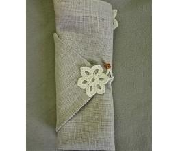 Lininiai servetėlių žiedai 7