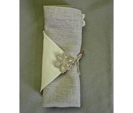 Lininiai servetėlių žiedai 4