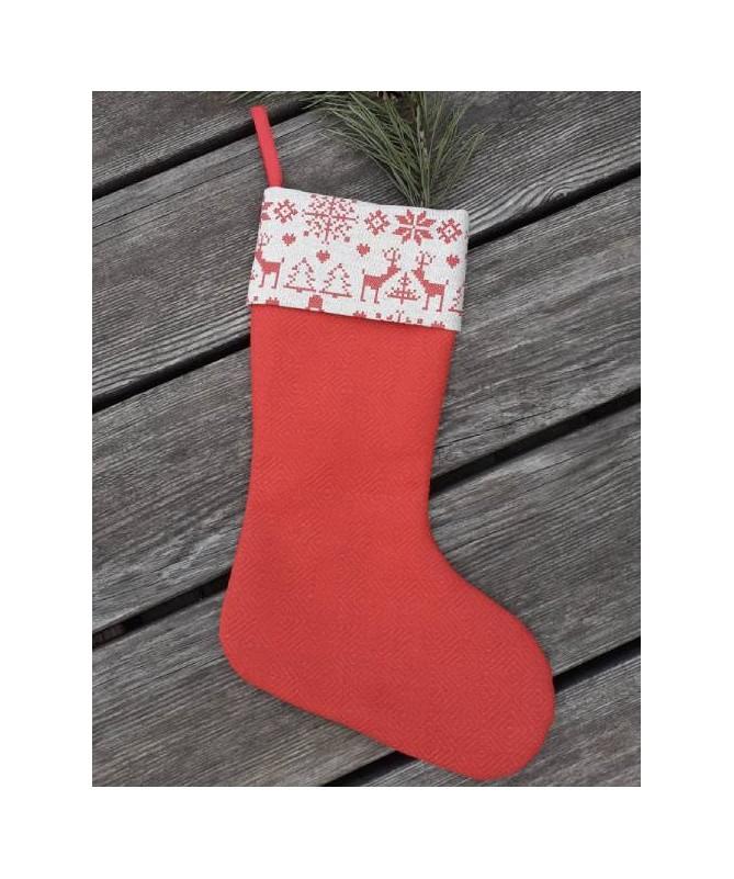 Kalėdinės kojinės - dekoracijos - kaledines