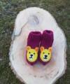 """Vilnoninės kojinės kūdikiams 9cm """"Meškutė"""""""