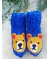"""Vilnoninės kojinės kūdikiams 9cm """"Meškinas"""""""